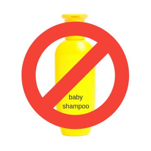Varför du inte ska använda babyschampo som rengöring